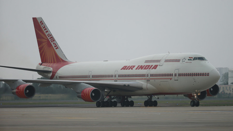 Air India flight attendant 'seriously injured' after falling off aircraft while closing door
