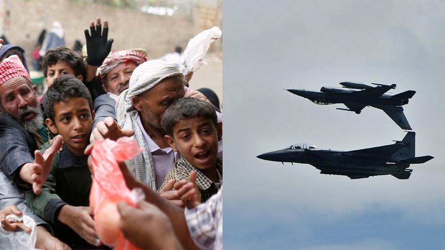 'US & UK throw money at Yemen's humanitarian disaster while profiting from war'