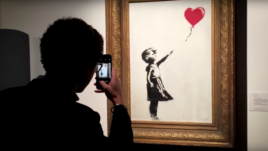 Banksy releases 'Director's Cut' VIDEO of auction shredding stunt, says mechanism malfunctioned