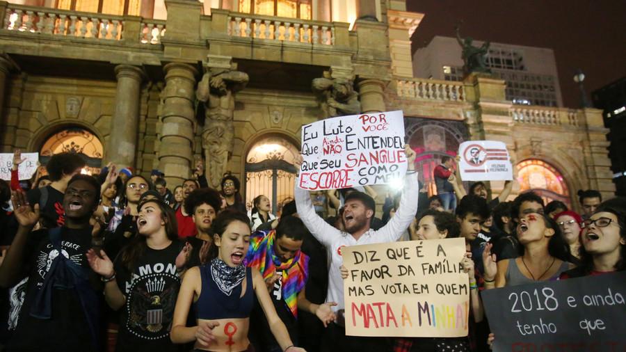 Brazil's frontrunner Bolsonaro accused of 'fraud & fake news campaign' ahead of runoff