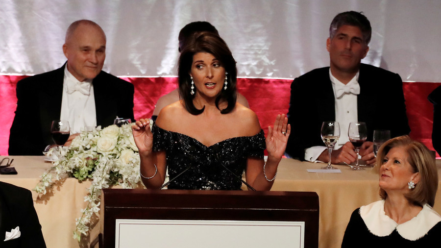 'Trump asked if I was from the same tribe as Warren': Nikki Haley's top jokes at NYC fundraiser