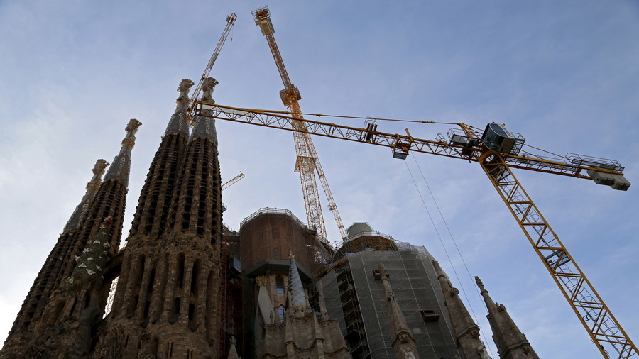 Barcelona's Sagrada Familia gets building permit 130 years too late