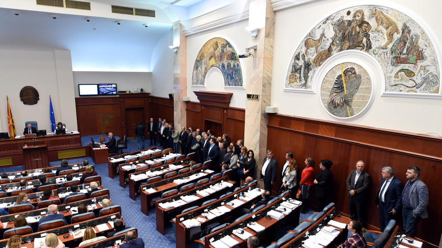 Macedonian parliament narrowly greenlights name change for 'brighter future' with NATO & EU
