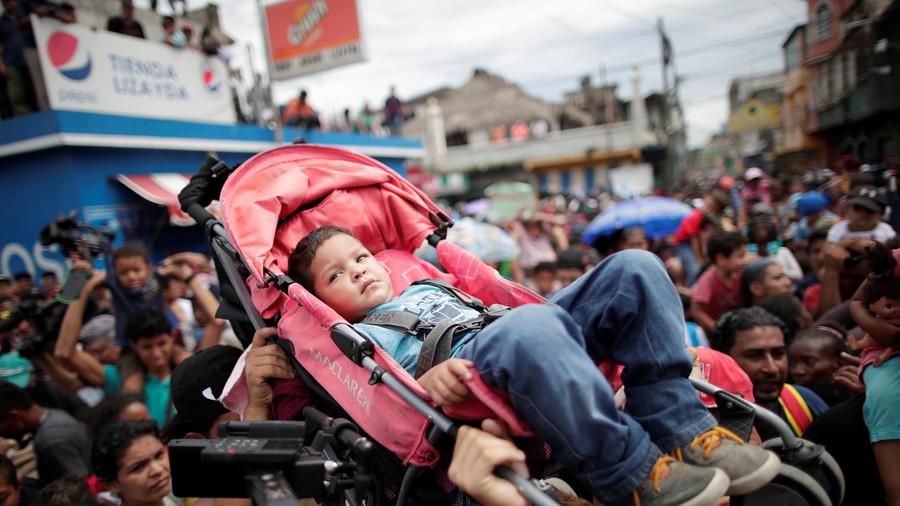 Migrant caravan using women & children as human shields to break into Mexico – Pompeo