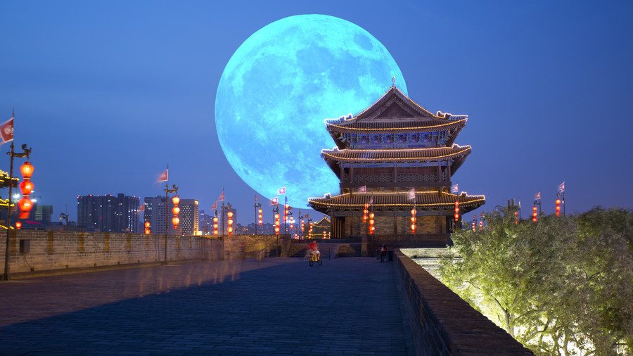 China is launching a fake, extra-bright moon to cut the cost of city lights