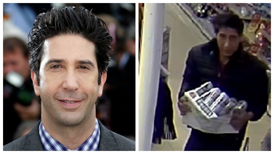 Police hunt for thief identical to Ross from Friends… cue Twitter gifs