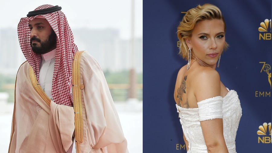 Scarlett Johansson 'vetoed Saudi crown prince funding of war journalist biopic'
