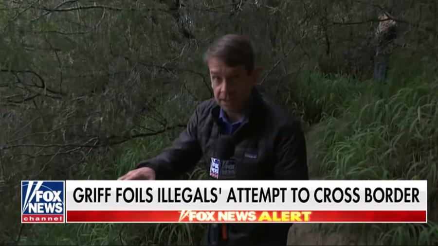 'Border Patrol cosplay': Fox News reporter hides in bushes, foils migrant border crossing