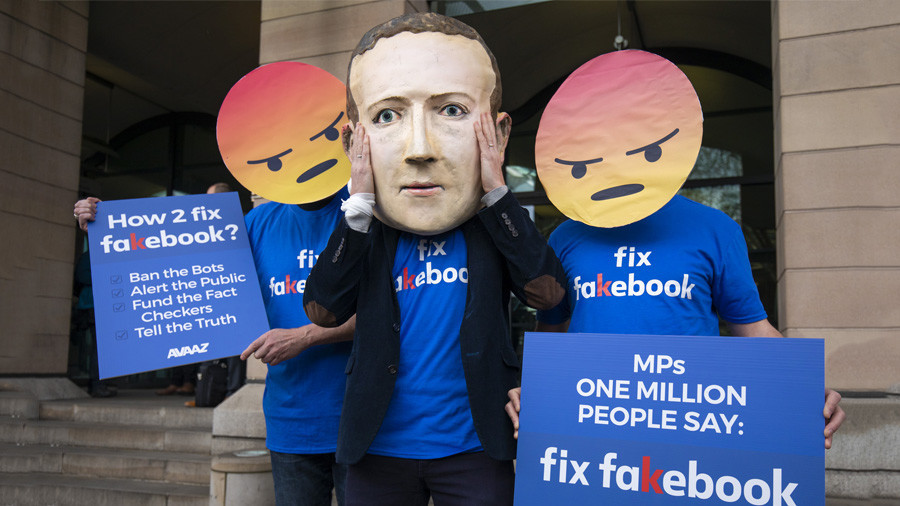 Britain hits Facebook with maximum fine over data scandal