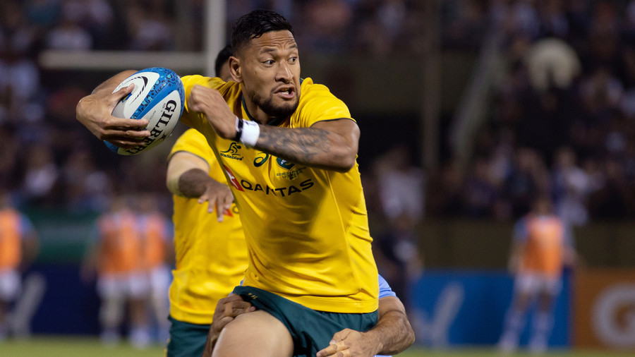 Wallabies star Israel Folau signs new deal with Rugby Australia