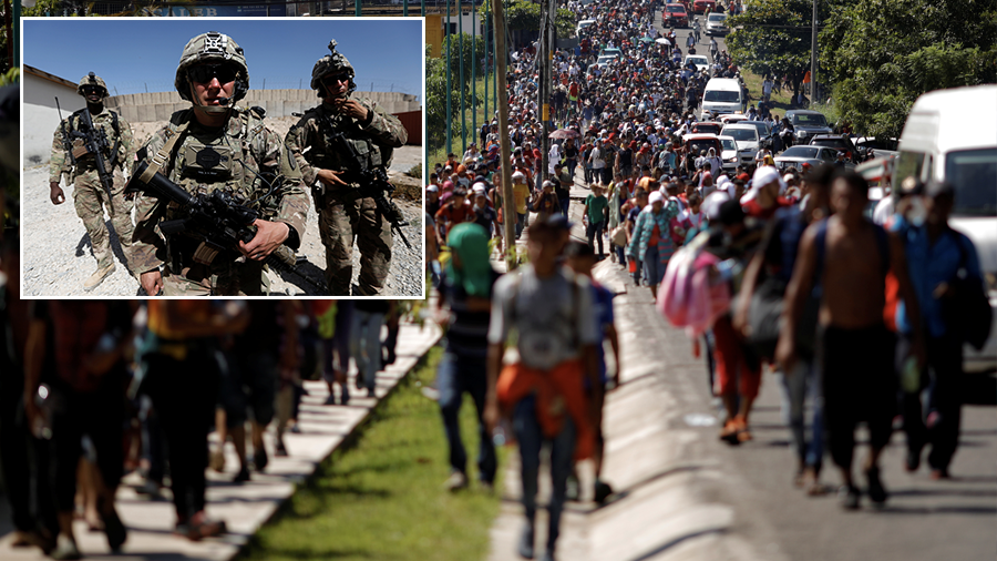 Pentagon to send 'several hundred' troops to US-Mexico border – report