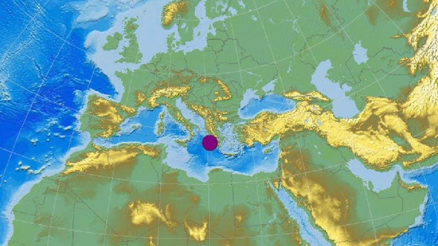 Magnitude 6.8 quake hits off Greece