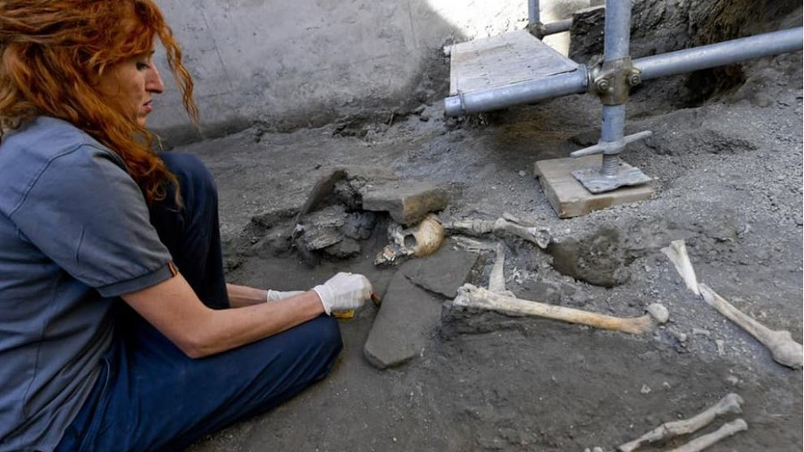 New Pompeii remains reveal final moments of people trying to escape horrifying volcano