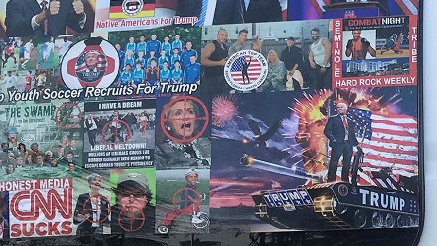 Twitter was too busy banning 'Russians' to notice #MAGAbomber's threats