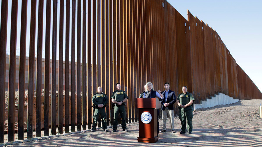 Wall Or Fence First Completed Section Of Trump S Border