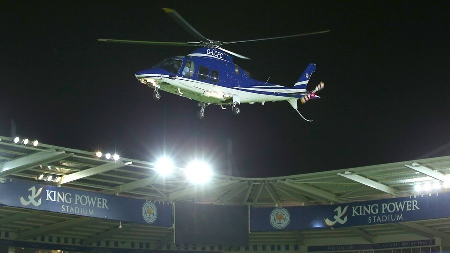 Helicopter of Leicester City FC billionaire owner crashes outside stadium (VIDEOS)
