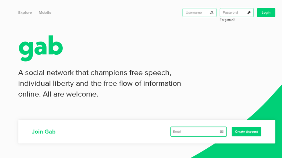 Gab blamed for synagogue shooting kicked off PayPal