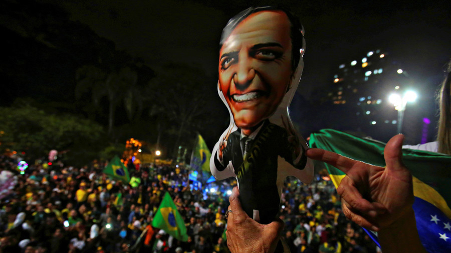 Brazil's Haddad ends campaign with warning about opponent
