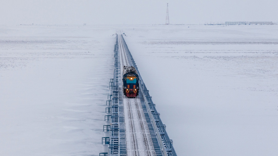 Top of the world: Russia to build world's northernmost railway in Arctic