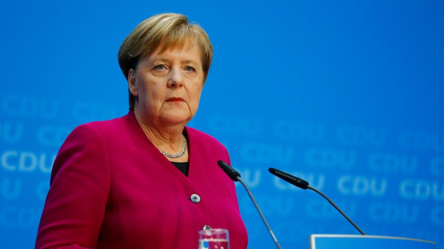 Merkel will not seek new term as chancellor & CDU chair as party faces support slump