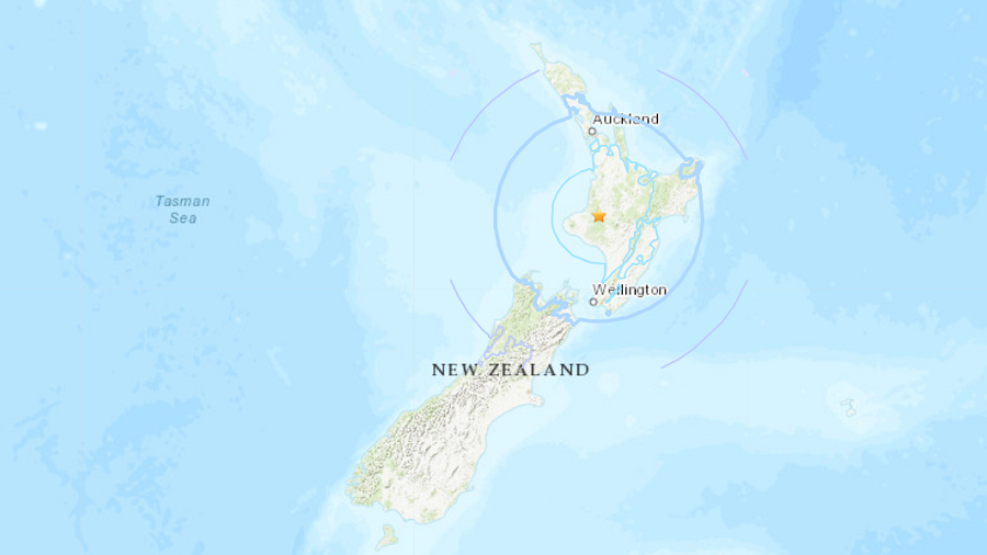 6.2 quake strikes New Zealand's North Island, disrupts parliament session