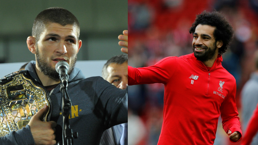 Khabib hails 'humble' Salah as Muslim 'role model'
