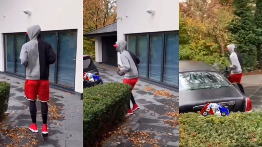 'How do I get to my car?' Pogba trolls himself in hilarious penalty run up spoof video (VIDEO)