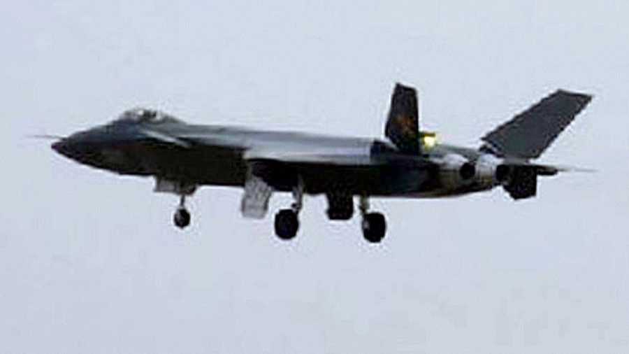 China's newest J-20 stealth fighter makes rare appearance in the sky (VIDEO)