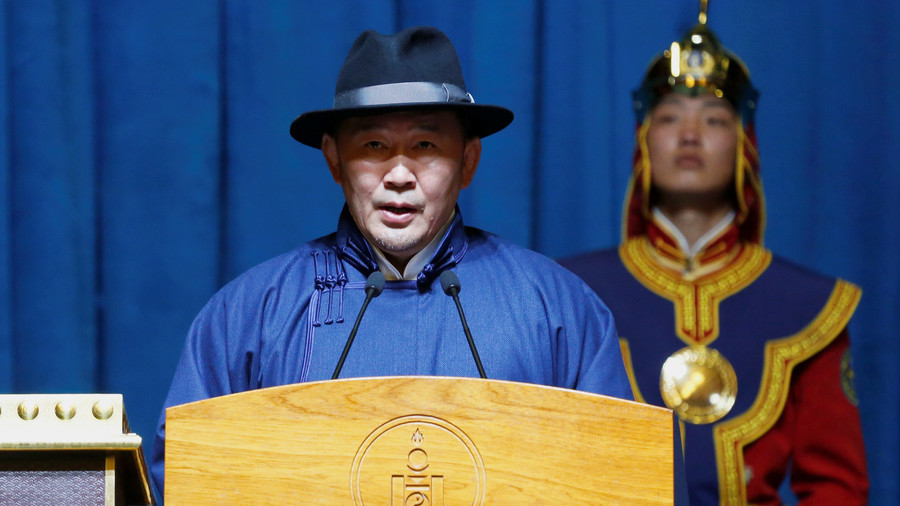 Way to deal with the opposition! Mongolian president threatens hunger strike