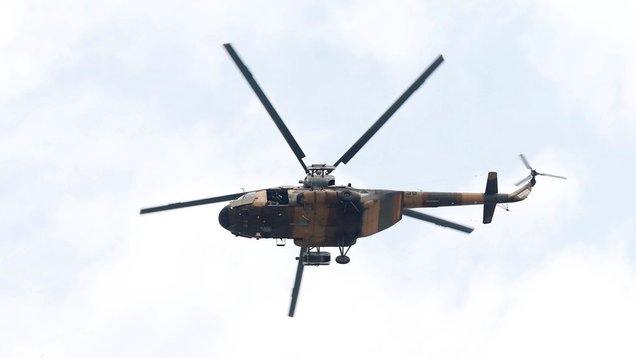 At least 25 killed in Afghanistan military chopper crash, officials reportedly on board
