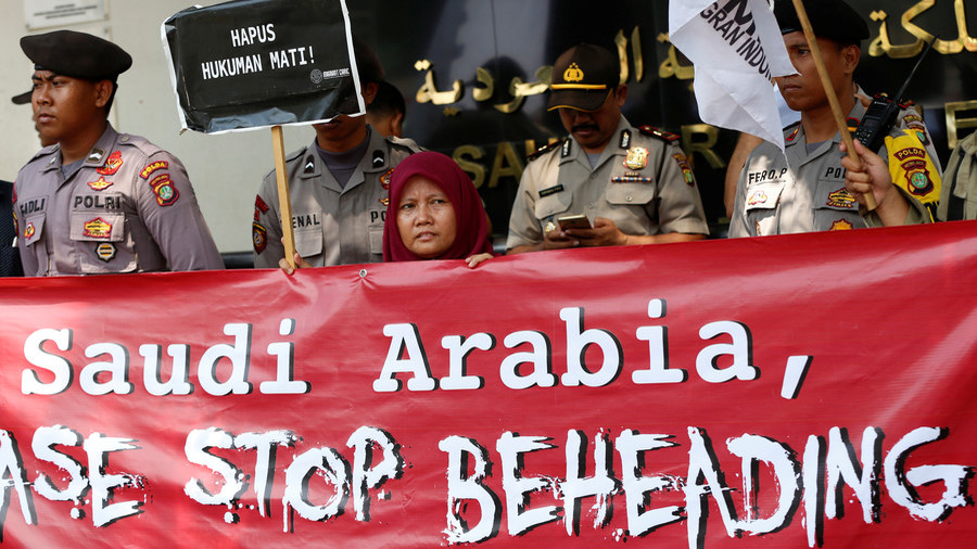 Indonesia protests to Saudi over execution of maid convicted of murder