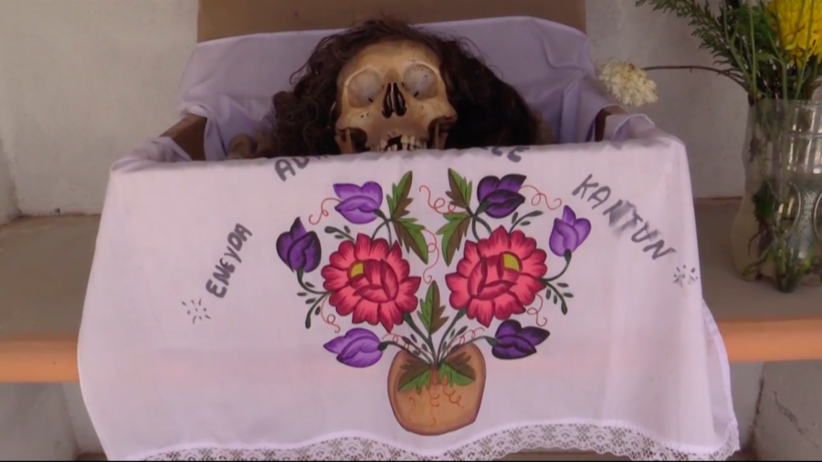 Washing the dead: Inside the Mexican bone-cleaning ceremony to honor loved ones