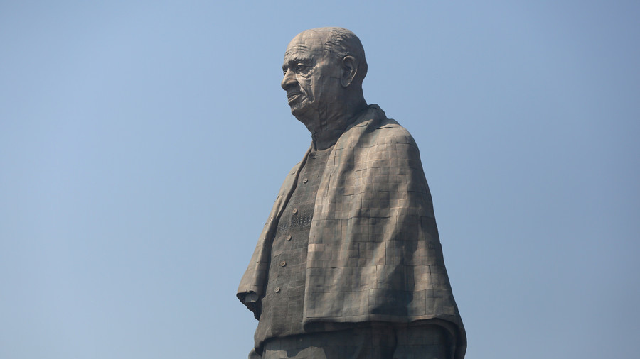 India inaugurates world's tallest statue, but some locals call it 'celebration of death'