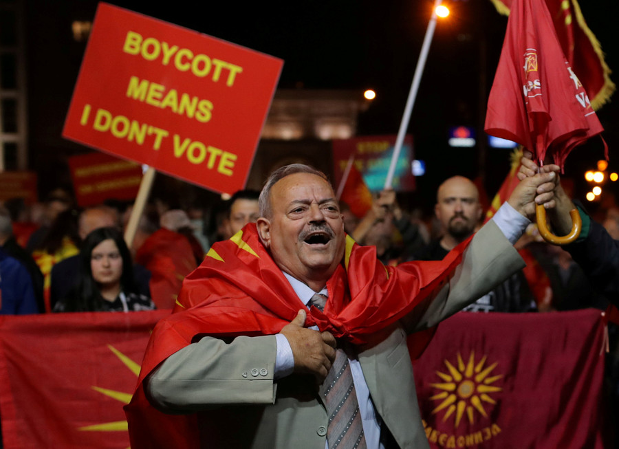 Macedonia's failed referendum is blow to Western lobbyists, but govt will seek to join NATO anyway
