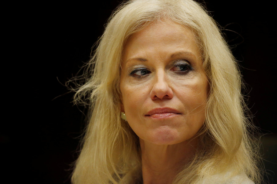 #NotHer: Kellyanne Conway's sex assault story doesn't matter, because she's on the wrong side