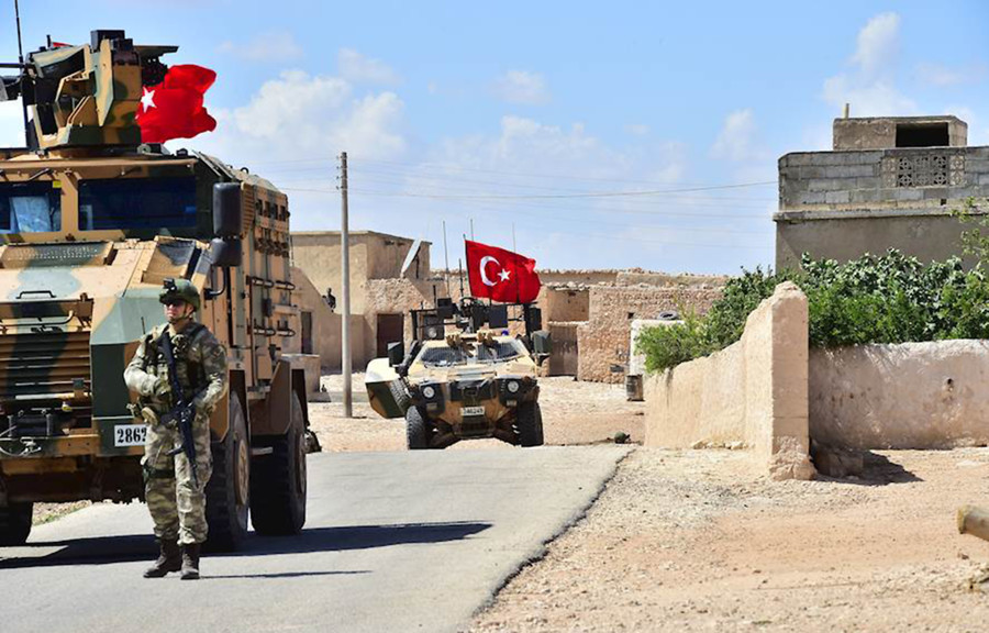 Syria spat over? US starts training Turkish troops for joint patrols in Manbij