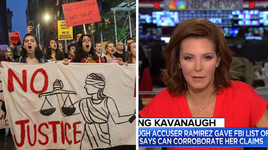 'Now that's objectivity' - MSNBC anchor admits media 'going after' Kavanaugh