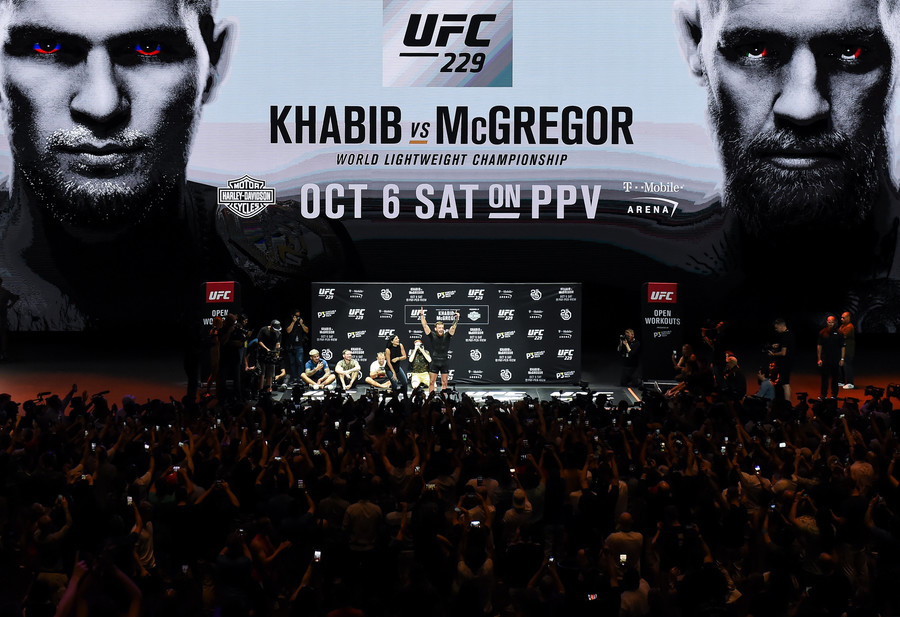 Khabib v McGregor set to smash pay-per-view record by 1mn – UFC chief White