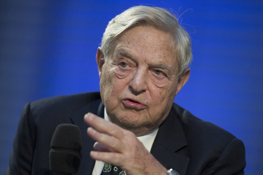 Trump accused of anti-Semitism over claim Soros funds 'elevator screamers'