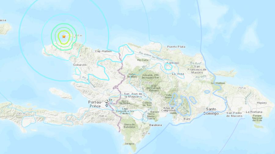 5.9 quake strikes northern Haiti, causing death & destruction