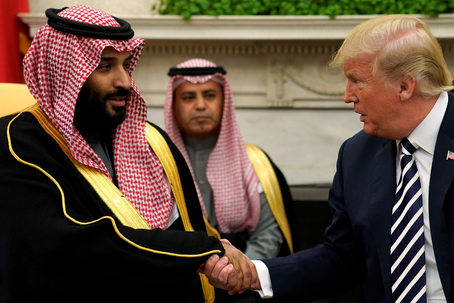 Critics use alleged murder of Saudi journalist...to bash Trump