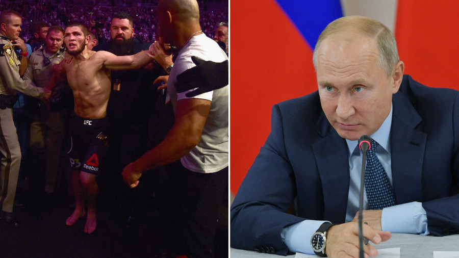'Our common victory': Khabib Nurmagomedov thanks Vladimir Putin after meeting