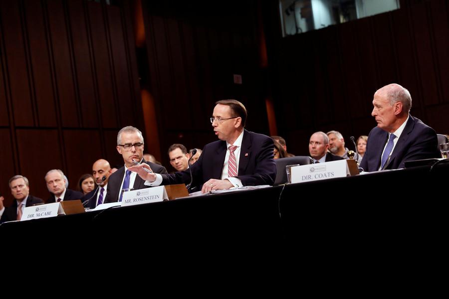 FBI took Rosenstein's suggestion to wiretap Trump & invoke 25th amdt seriously – reports