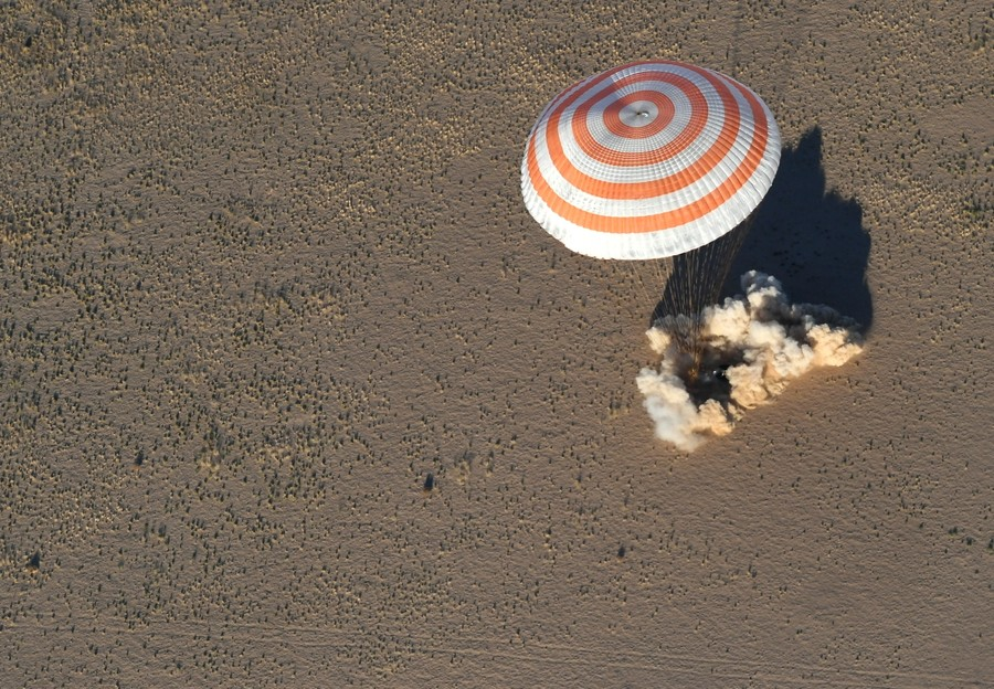 ISS crew made emergency landing in Kazakhstan, both alive