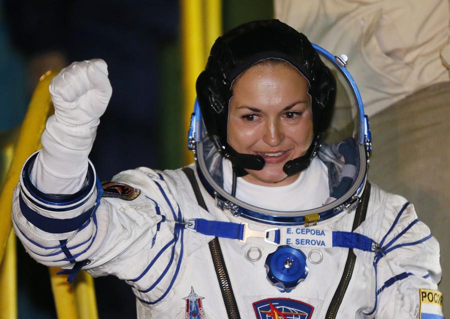 Cosmonauts do world's most dangerous job & we saw that today – Russia's Elena Serova