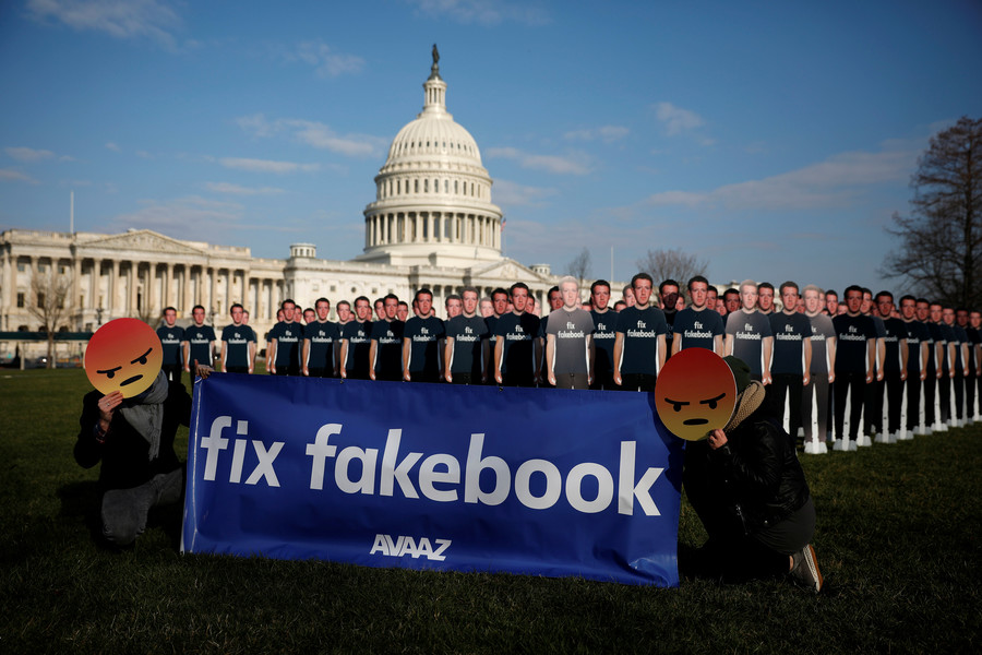 Facebook purges hundreds of political pages, some alt-media with millions of followers