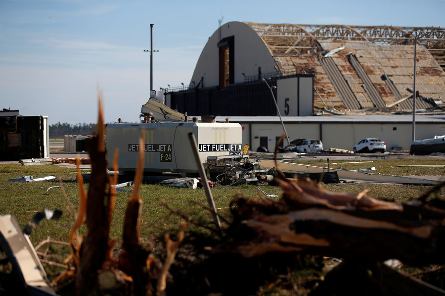 'Widespread catastrophic damage': Hurricane Michael ravages Florida Air Force base (PHOTOS)