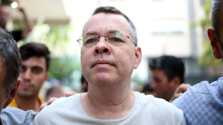 Turkish court frees US pastor Brunson after 2yrs in jail