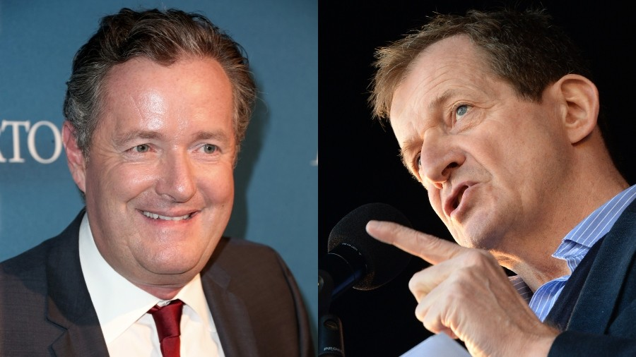 Alastair Campbell tells Piers Morgan to 'just shut up' as Brexit clash boils over