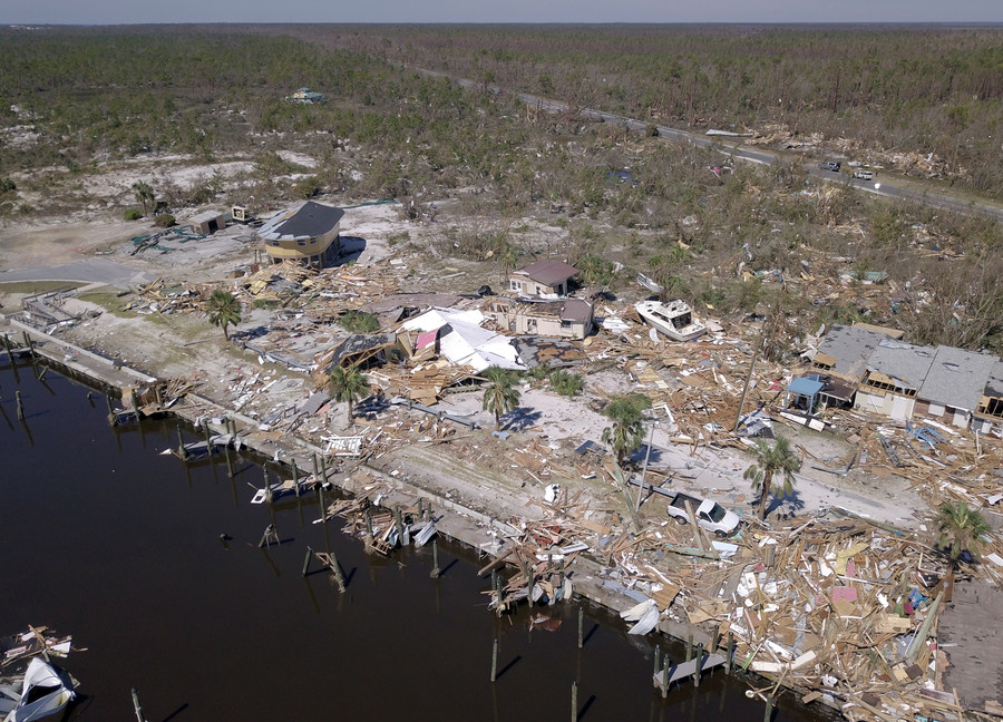 Before & after PHOTOS show horrifying devastation of Hurricane Michael